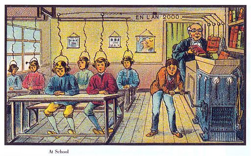 Villemard: In der Schule