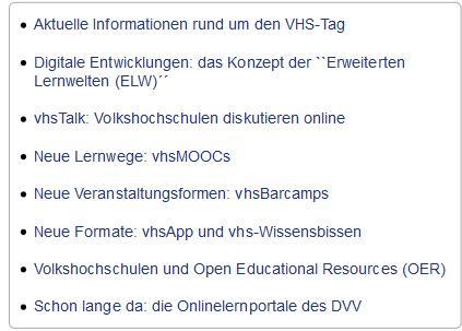 Dossier Deutscher Bildungsserver