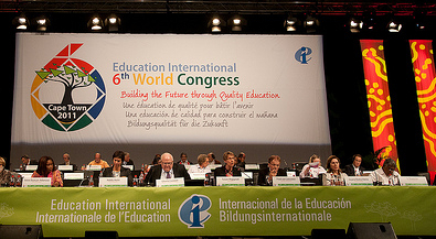 Education International 6th World Congress in S�dafrika, EI Executive Board; Photo: Bea Uhart / flickr