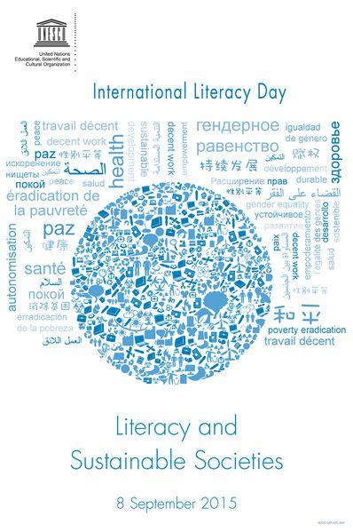 Logo der Weltdekade f�r Alphabetisierung