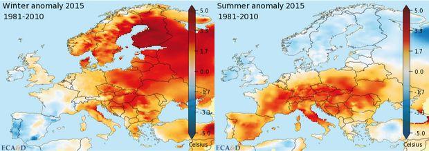 Klimaanderungen In Europa Klimawandel
