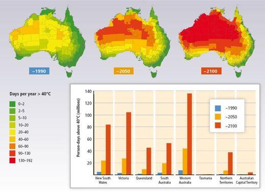 klimaprojektionen australien klimawandel. Black Bedroom Furniture Sets. Home Design Ideas