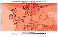 Temp2m Europa Sommer DiffII rcp45.png