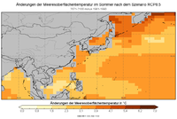 Tos in SST global Diff2 RCP8.5 Sommer.png