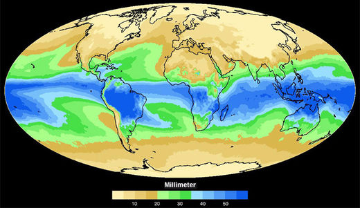 Wasserdampf In Der Atmosphäre